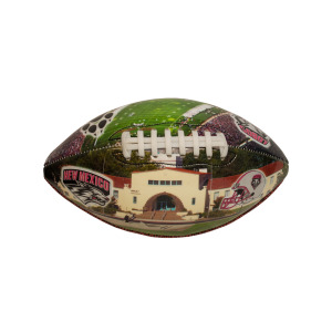 1  Pieces Per Pack Of  University Of New Mexico Deflated Football ][Wholesales Purchase Hoodmat.Com
