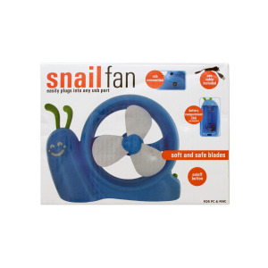 4 Pieces Per Pack Of Battery Operated Snail Usb Fan ][Wholesales Purchase|Hoodmat.Com