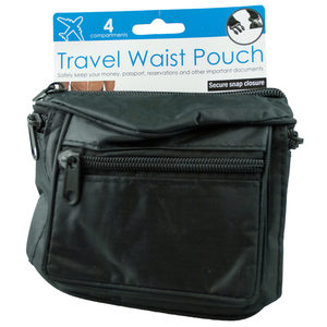 12  Pieces Per Pack Of  3 Travel Waist Pouch  ][Wholesales Purchase|Hoodmat.Com