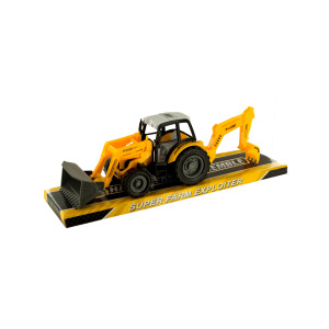 6 Pieces Per Pack Of Toy Farm Tractor ][Wholesales Purchase   Hoodmat.Com