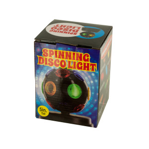 2 Pieces Per Pack Of Mini Spinning Disco Party Light ][Wholesales Purchase|Hoodmat.Com