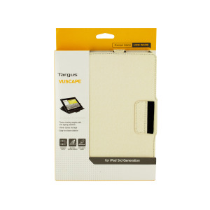 2 Pieces Per Pack Of Targus Vuscape Bone White Tablet Viewing Case ][Wholesales Purchase|Hoodmat.Com