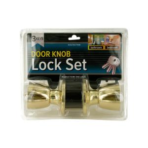 1 Pieces Per Pack Of Locking Door Knob Set with 2 Keys ][wholesales purchase|hoodmat.com