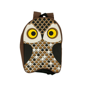 3 Pieces Per Pack Of Owl Kid Canvas Backpack ][wholesales purchase|hoodmat.com