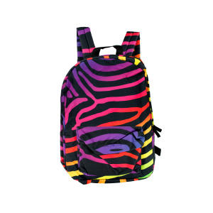 1 Pieces Per Pack Of Neon Zebra Backpack ][wholesales purchase|hoodmat.com