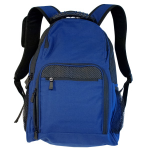 1 Pieces Per Pack Of Black & Royal Blue Backpack with Pockets ][wholesales purchase|hoodmat.com