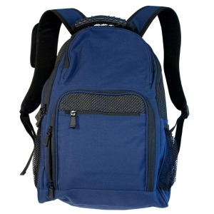 1 Pieces Per Pack Of Navy Blue & Black Backpack with Pockets ][wholesales purchase|hoodmat.com