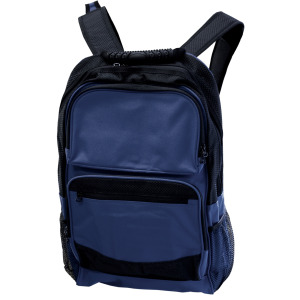 1 Pieces Per Pack Of Large Black & Navy Blue Backpack with Pockets ][wholesales purchase|hoodmat.com