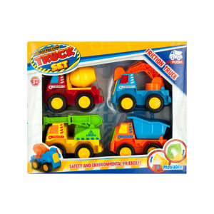 2 Pieces Per Pack Of Friction Construction Truck Set ][Wholesales Purchase   Hoodmat.Com