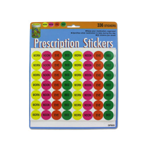 336 MEDICATION STICKERS