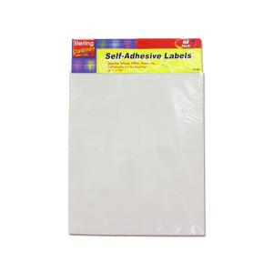 WHITE LABELS 4 ASST SIZES