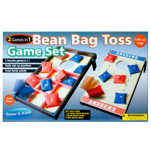 1 Pieces Per Pack Of 2 In 1 Bean Bag Toss Game Set ][wholesales purchase hoodmat.com