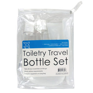 6  Pieces Per Pack Of  Toiletry Travel Bottle Set  ][Wholesales Purchase|Hoodmat.Com