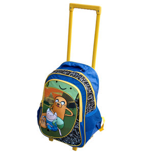 2 Pieces Per Pack Of Adventure Time Trip Backpack with Wheels ][wholesales purchase|hoodmat.com