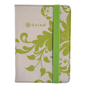6 Pieces Per Pack Of Gaiam Green Filigree Ipad Mini Folio Case ][Wholesales Purchase|Hoodmat.Com