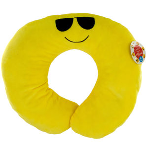 4  Pieces Per Pack Of  Emoticon Plush Travel Pillow  ][Wholesales Purchase|Hoodmat.Com