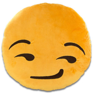 6 Pieces Per Pack Of Emoticon Smirk Face Plush Pillow ][Wholesales Purchase|Hoodmat.Com