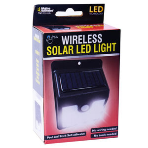 2 Pieces Per Pack Of Motion-Activated Wireless Solar Led Light ][Wholesales Purchase|Hoodmat.Com