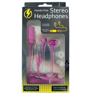 6 Pieces Per Pack Of Hands-Free Stereo Headphones ][Wholesales Purchase Hoodmat.Com