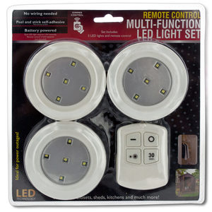 2 Pieces Per Pack Of Remote Control Multi-Function Led Light Set ][Wholesales Purchase|Hoodmat.Com