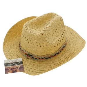 8 Pieces Per Pack Of Western Style Woven Fashion Hat ][wholesales purchase|hoodmat.com