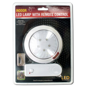 4 Pieces Per Pack Of Indoor Led Lamp With Remote Control ][Wholesales Purchase|Hoodmat.Com