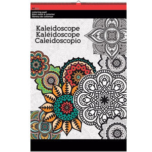 12 Pieces Per Pack Of Kaleidoscope Large Coloring Pad ][Wholesales Purchase Hoodmat.Com