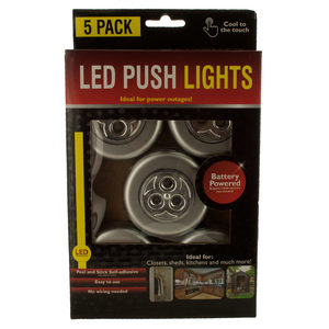 4 Pieces Per Pack Of Led Push Lights ][Wholesales Purchase|Hoodmat.Com