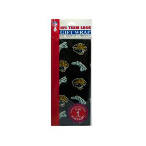 24  Pieces Per Pack Of  Jacksonville Jaguars Team Logo Flat Gift Wrap ][Wholesales Purchase Hoodmat.Com