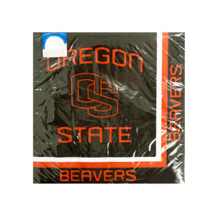 24  Pieces Per Pack Of  Oregon State Beavers Lunch Napkins ][Wholesales Purchase Hoodmat.Com