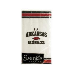 24  Pieces Per Pack Of  Arkansas Razorbacks Pocket Tissues ][Wholesales Purchase Hoodmat.Com