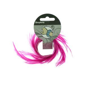 30 Pieces Per Pack Of Pink Feather Slap Bracelet ][Wholesales Purchase Hoodmat.Com