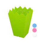 24 Pieces Per Pack Of Decorative Small Square Multi-Use Flower Pot ][wholesales purchase|hoodmat.com