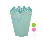 24 Pieces Per Pack Of Decorative Hexagonal Multi-Use Flower Pot ][wholesales purchase|hoodmat.com