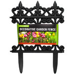 24 Pieces Per Pack Of Decorative Garden Fence ][wholesales purchase|hoodmat.com