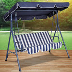 1 Pieces Per Pack Of Blue Striped Canopy Swing Chair ][wholesales purchase|hoodmat.com