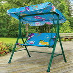 1 Pieces Per Pack Of Kids Canopy Swing Bench ][wholesales purchase|hoodmat.com