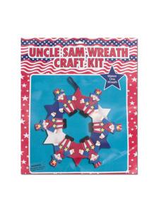 uncle sam wreath kit