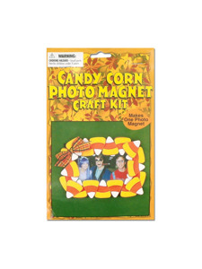 candycorn photo magnet