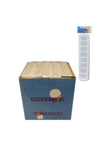 single row ice cube tray