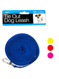 14 foot tie-out dog leash