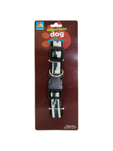 Adjustable dog collar (assorted colors)