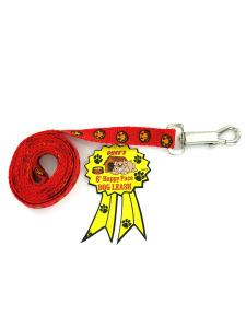 6 Happy face dog leash