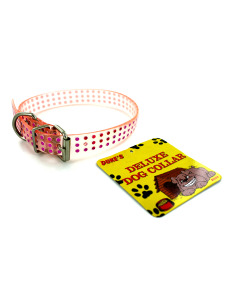 Plastic dog collar (assorted colors)