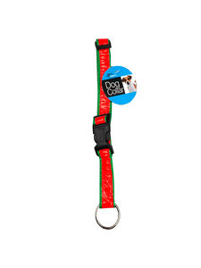 Reflective dog collar (assorted colors)