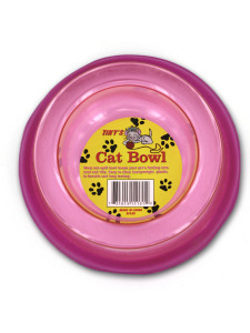 Non-spill cat bowl