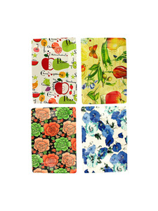 Serving tray with assorted designs