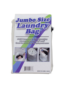 Jumbo size laundry bag
