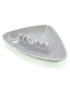 Triangle shaped ashtray