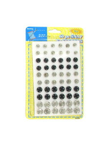 60 pc snap fasteners